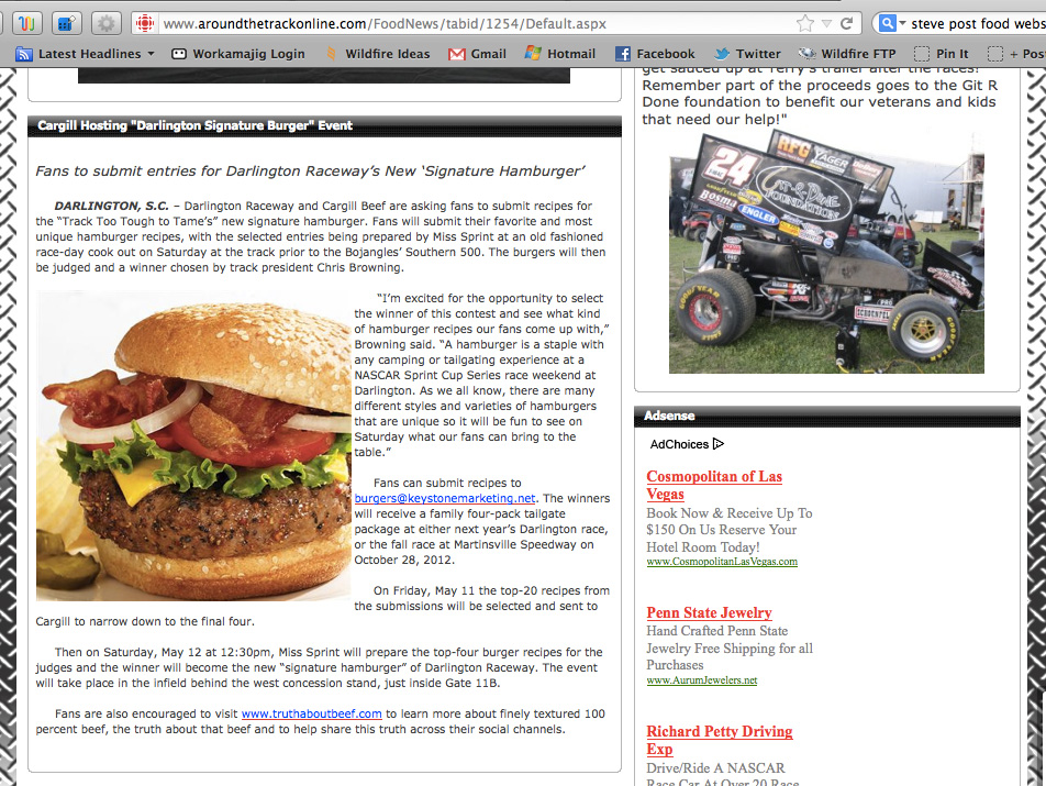Cargil-&-Darlington-Raceway-Signature-Burger-Promotion