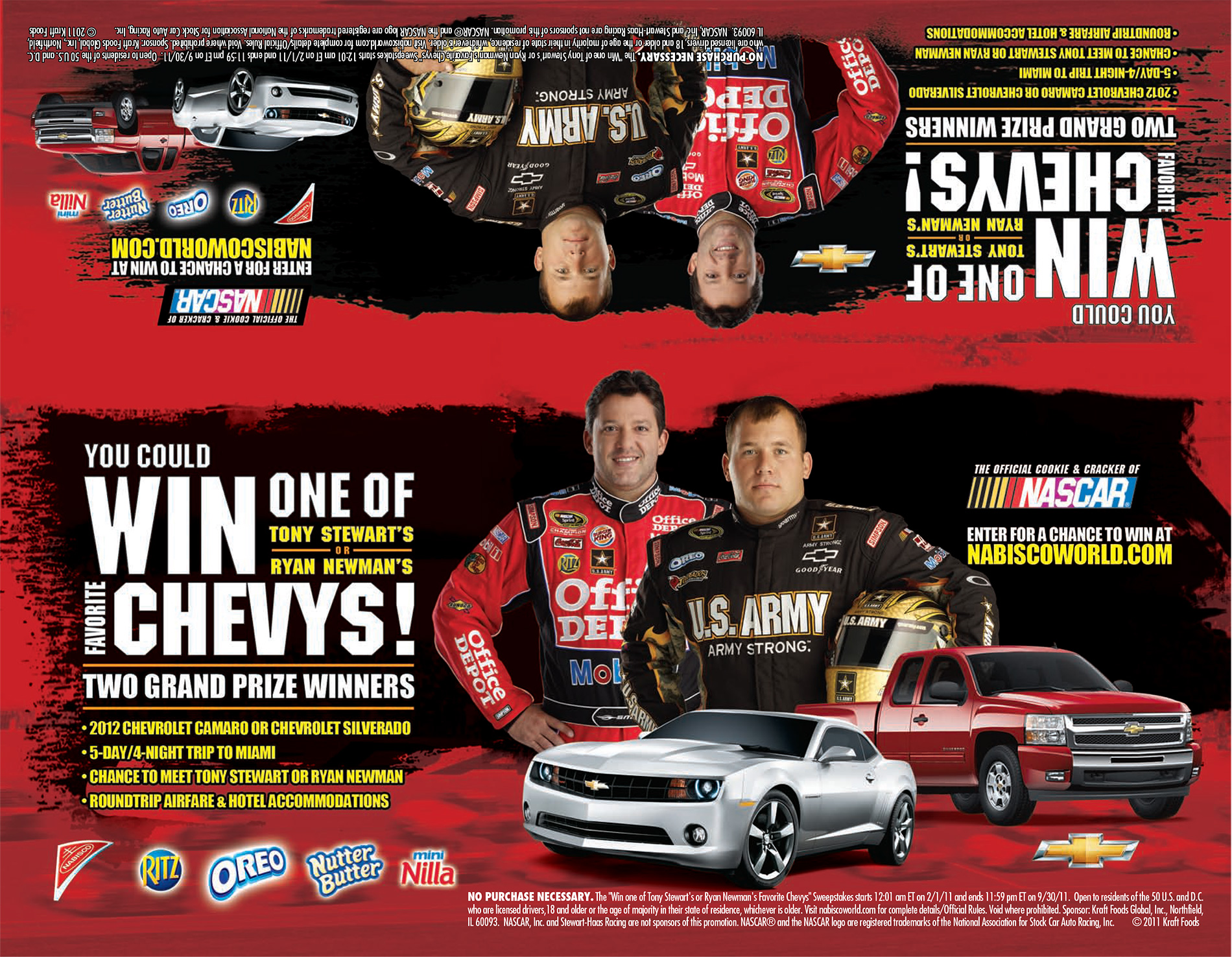 Nabisco-&-Chevrolet-Co-Marketing-Promotion